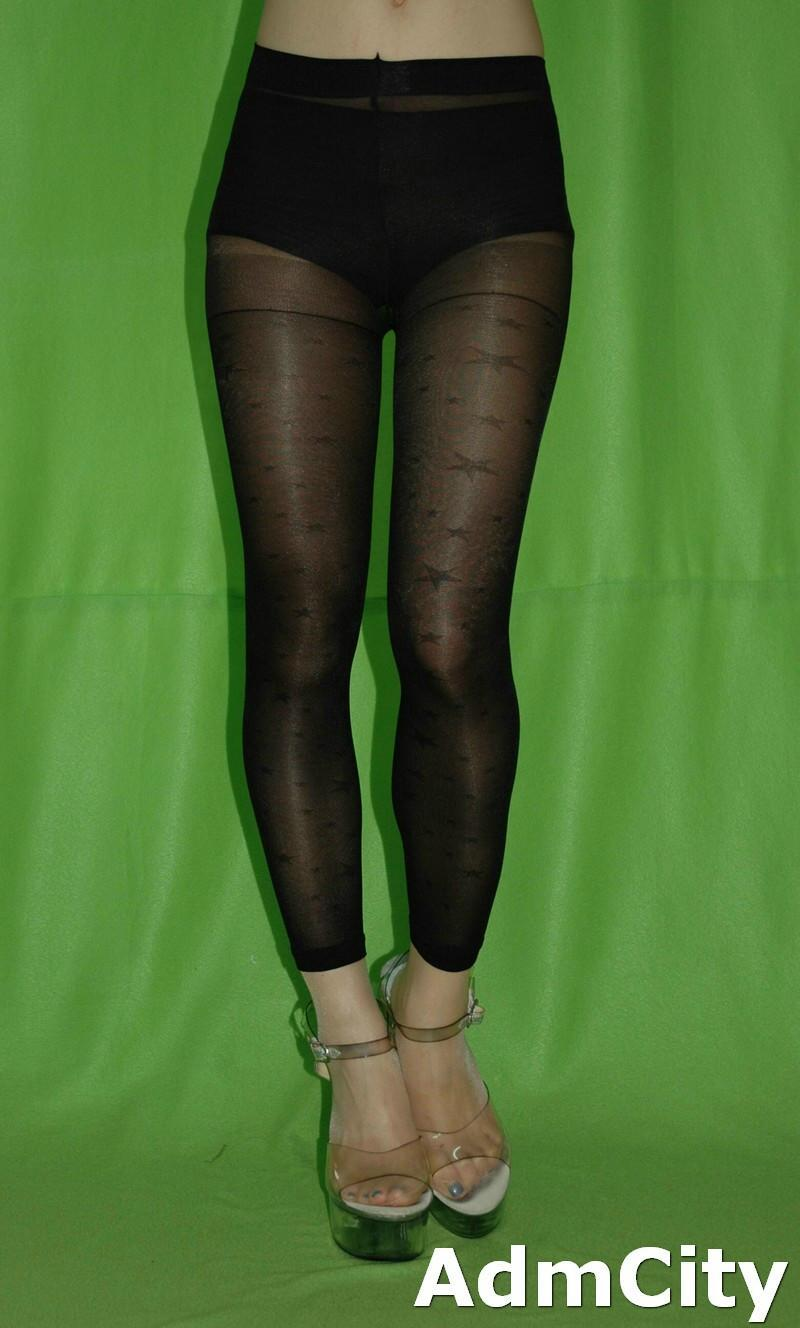 Product - Womens Ankle Length Footless Tights Pantyhose Seamless Stretch Opaque Colors! Product Image. Price $ 8. Product Title. Product - MeMoi Sheer Footless Capri Shaping Tights | Women's Pantyhose - Nylons Large / Honey MM Product Image. Price $ Product Title.