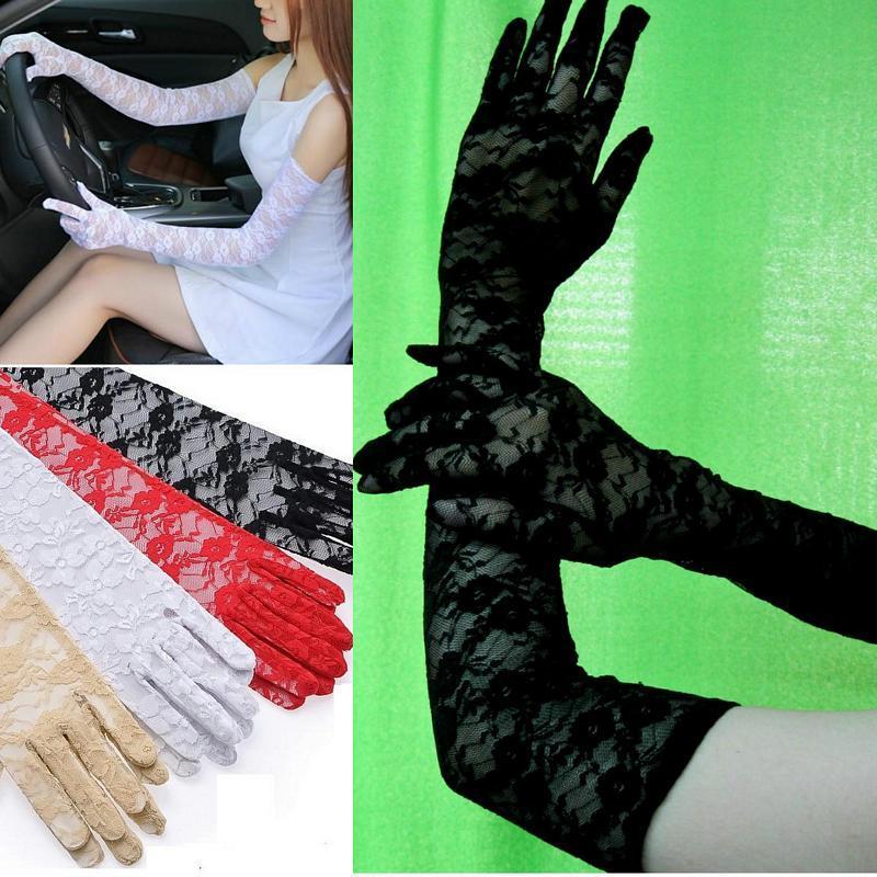 蕾絲 手套.
