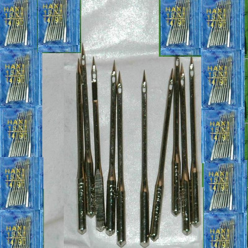 100根家用縫紉機用針Hax1 15x1 90/14 100/16 110/18 適用勝家Singer